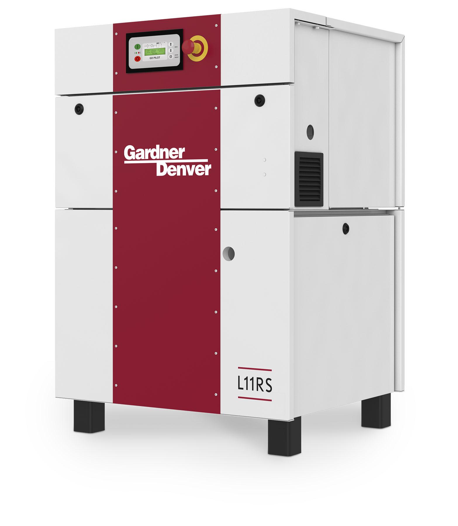 Industrial Air Compressor Side